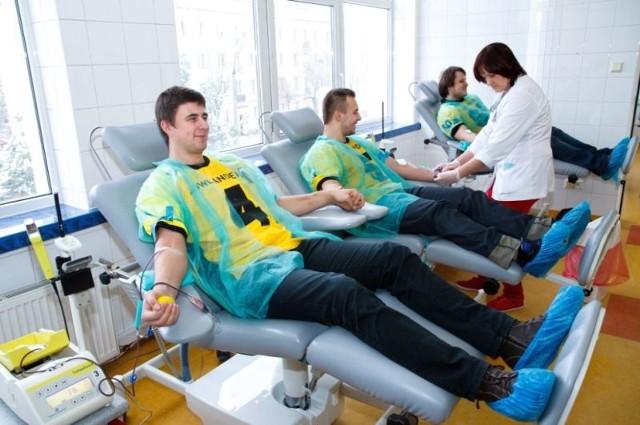 Białostoccy futboliści z Lowranders podzielili się swoją krwią