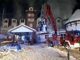 Po pożarze hotelu Amber Bay w Augustowie. Biegli będą ustalać przyczynę tragedii
