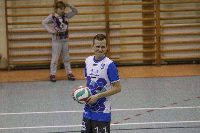 Grający trener Juve Głuchołazy Grzegorz Malina.