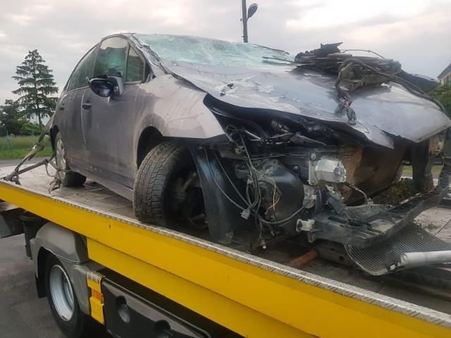 Wypadek pod Paczkowem.