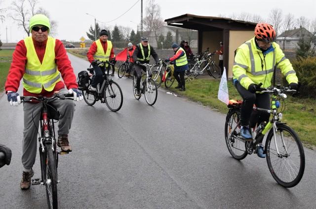 w sobotę, 14 marca, rowerzyści ruszą szlakiem powstania styczniowego