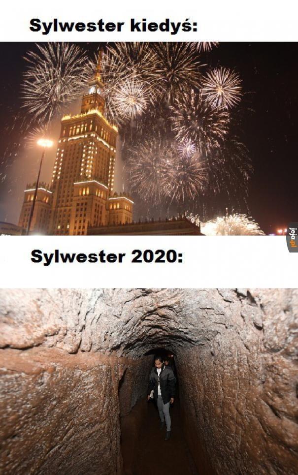 Sylwester 2020 bez godziny policyjnej: memy to jedyne, co...
