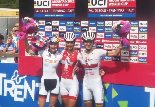 Zawody wygrała Jolanda Neff, klubowa partnerka Włoszczowskiej.