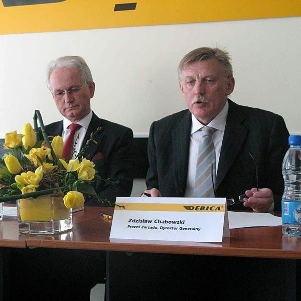 W związku z inwestycjami  nie mamy planów zmiany zatrudnienia - mówi Jaroslav F. Kaplan (z lewej),  przewodniczący Rady Nadzorczej.