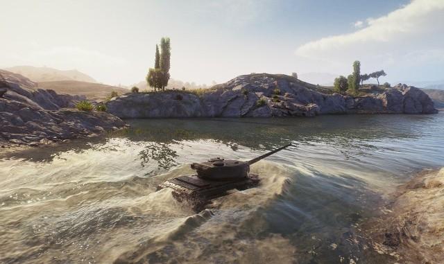 World of TanksWorld of Tanks w wersji 1.0 to między innymi nowy sposób renderowania wody