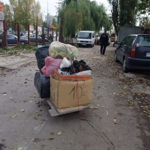 Koniec bazaru na Jurowieckiej w Bialymstoku