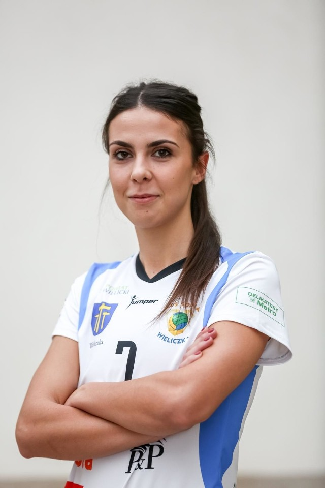 Karolina Szczygieł od tego sezonu gra w drużynie z Wieliczki