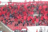 Kibice na meczu Widzew Łódź-Odra Opole. W sobotę (13 czerwca) na trybunach było radośnie i czerwono ZDJĘCIA