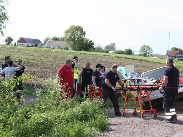 Chłopca zabrano do szpitala we Włocławku