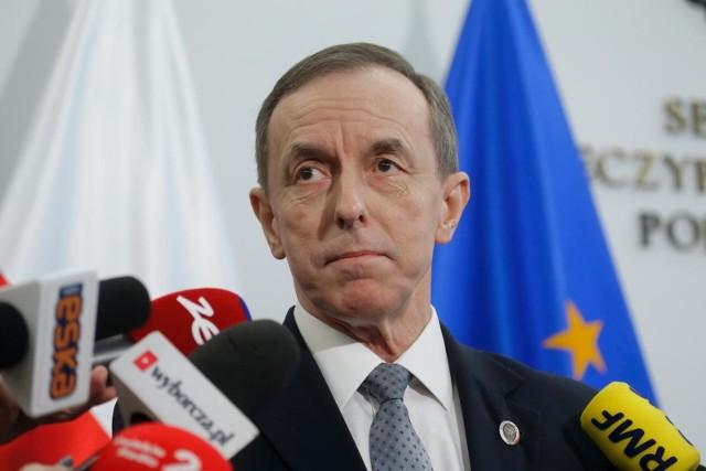 Marszałek Senatu Tomasz Grodzki (KO)