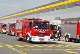 Pożar w Amazonie pod Wrocławiem. Wezwano 13 wozów straży