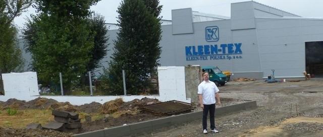 Fabryka Kleen – Tex w Suchedniowie została w ostatnim czasie rozbudowana.