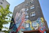 Pierwszy w Polsce, jeden z trzech na świecie - w Łodzi powstał trójwymiarowy mural! Będzie jeszcze pięć podobnych