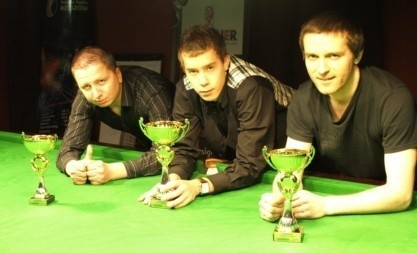 Na zdjęciu od lewej: Sławomir Pasternak (Rzeszów), Piotr Malczyk (Wadowice) oraz Michał Soliński (Rzeszów).