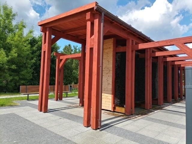 Oto projekt tężni solankowej w Parku Planty. Powstania takiego obiektu domagają się radni z partii Polska 2050.