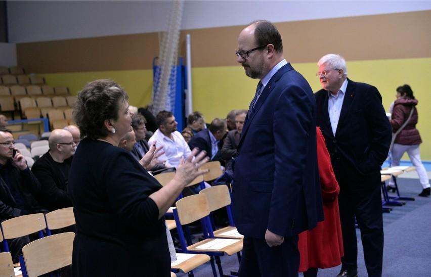 Paweł Adamowicz spotkał się z mieszkańcami dzielnicy Ujeścisko- Łostowice [ZDJĘCIA]