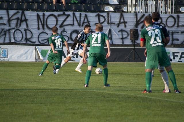 Piłkarze Okocimskiego mają coraz mniejsze szanse na uratowanie 1 ligi