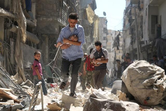 Wojna w Syrii pochłonęła setki tysięcy ofiar, w tym także dzieci