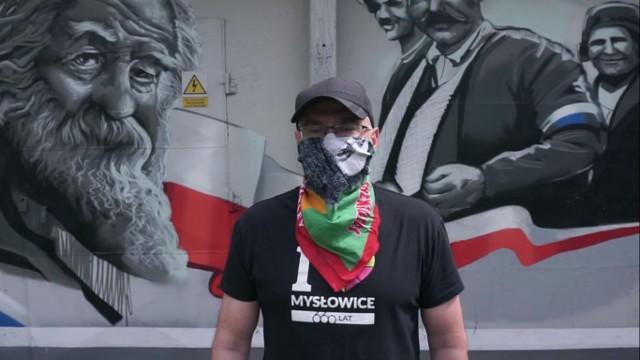 Dariusz Wójtowicz, prezydent Mysłowic rapował w ramach #hot16challenge2.Zobacz kolejne zdjęcia. Przesuwaj zdjęcia w prawo - naciśnij strzałkę lub przycisk NASTĘPNE