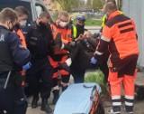 Powalony alkoholem mężczyzna na ul. Przybyszewskiego. Przyjechały służby ZDJĘCIA