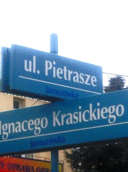 Pomyłka czy prawda: Pietrasze na Jaroszówce