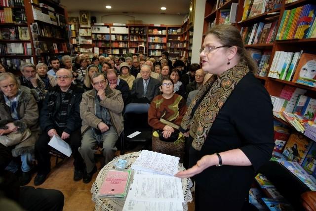 Spotkanie z Krystyną Pawłowicz w Poznaniu