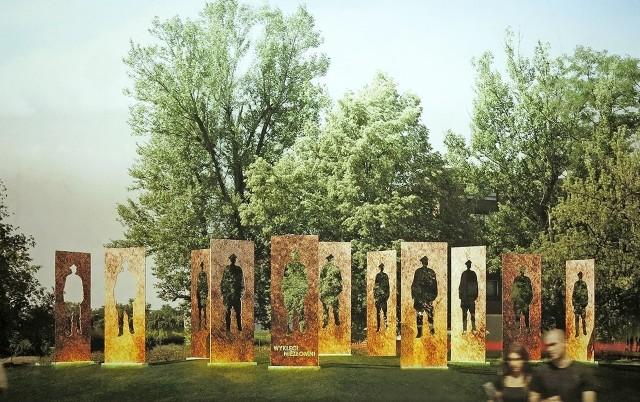 Projekty pomnika Żołnierzy Wyklętych, które zakwalifikowano do II etapu konkursu