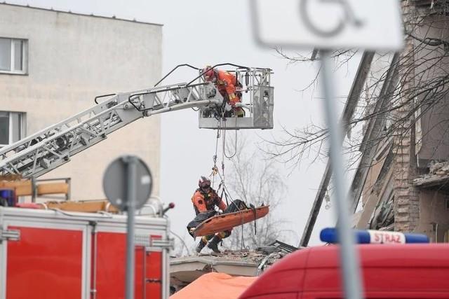 Potężny wybuch wstrząsnął poznańskim Dębcem w niedzielę rano