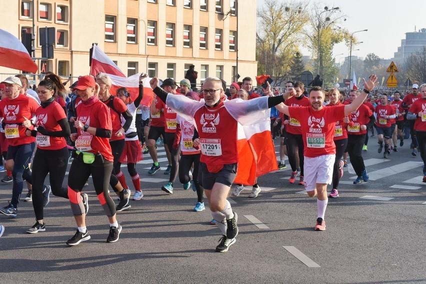 Bieg Niepodległości w Poznaniu w poprzednim roku ukończyło...
