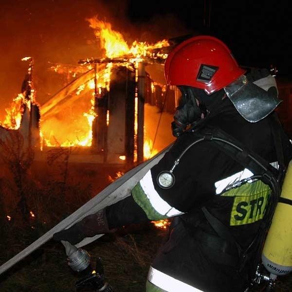 Strażacy gasili pożary, które - jak wynika z ustaleń śledztwa - wzniecali bracia będący członkami OSP w Wielkich Oczach.