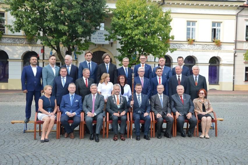 Rada Miejska w Łowiczu z lat 2014-18