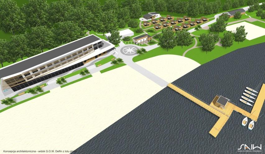 Wizualizacja przebudowy z rozbudową infrastruktury...