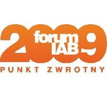 Forum IAB 2009 - punkt zwrotny, 4-5 listopada 2009 to największa konferencja e-biznesu w Polsce