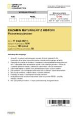 Matura 2021: historia, poziom rozszerzony. ARKUSZ CKE + ODPOWIEDZI. Czy egzamin z historii 17.05.2021 był trudny? Zobacz pytania!
