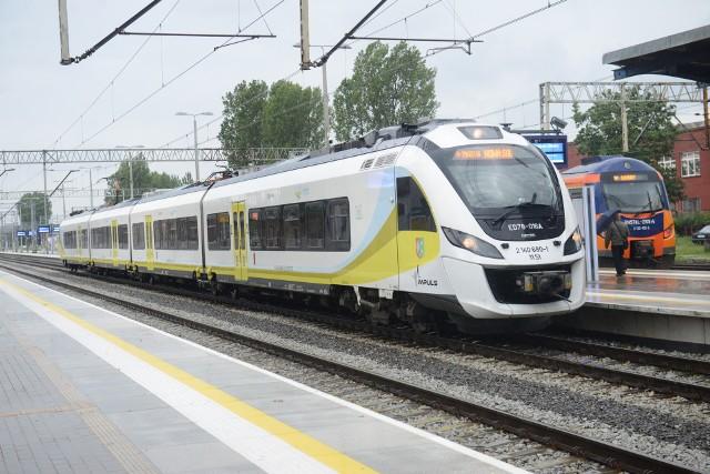 Składy pasażerskie będą mogły wyjechać na linię do Leszna przez Wschowę wraz z wejściem w życie nowego rozkładu jazdy 2019/2020.