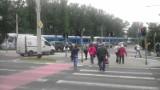 Wrocław: Awaria tramwajów na skrzyżowaniu ul. Legnickiej i Milenijnej (ZDJĘCIA)