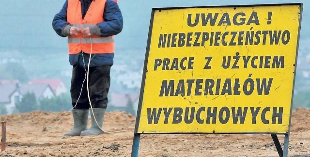Mikrowybuchy i badania w Koszalinie mają być wznowione