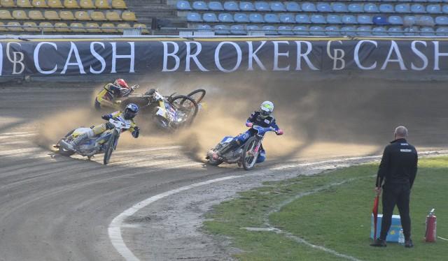 W meczu z Motorem Lublin Anders Thomsen brał udział w upadku w VIII biegu.