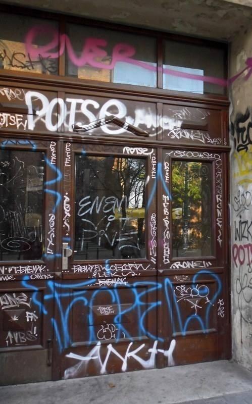 Potse zabazgrał tysiące miejsc w Poznaniu