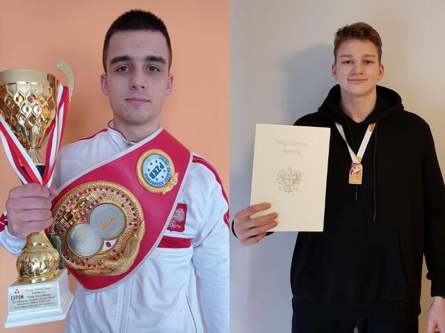 Od lewej: Krystian Rzepka, Jan Florkiewicz
