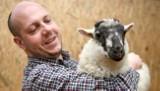 Weterynarz z Przemyśla gra na gitarze dla owiec. Chce zwrócić uwagę na ich los [WIDEO, ZDJĘCIA]