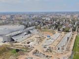 HIT! Szokujące zdjęcia z lotu ptaka, budowy stadionu dla Radomiaka