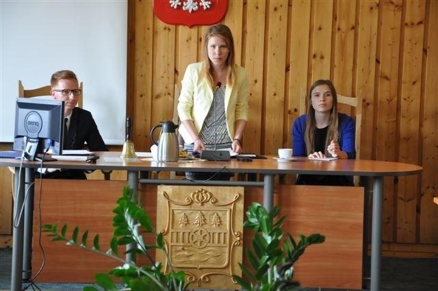 Przewodniczącą rady została Patrycja Peplińska z czerskiego liceum.