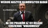 """Telekamery 2021 MEMY Jacek Kurski protestuje, bo """"Wiadomości"""" są lepsze niż kabarety"""