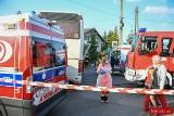 Wypadek dwóch autokarów w Pankach. Wśród poszkodowanych są dzieci, które wracały ze szkoły