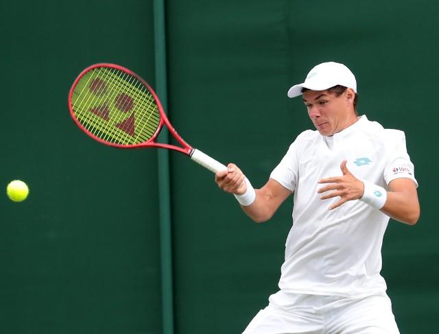 Kamil Majchrzak, tenisista AZS Łódź