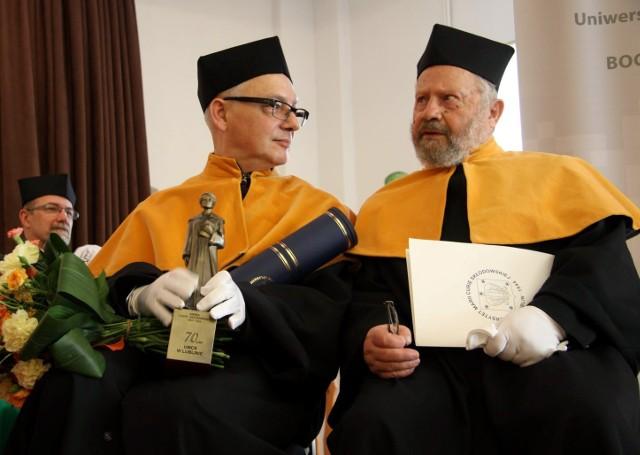 Bogusław Śliwerski nowym doktorem honorowy UMCS