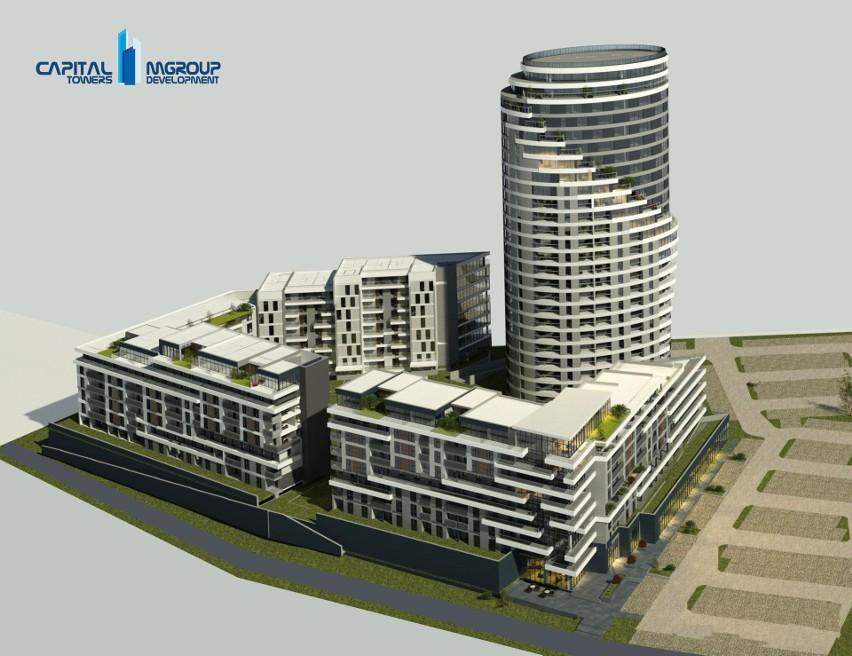 Nowa część kompleksu mieszkalnego nad Wisłokiem będzie się...