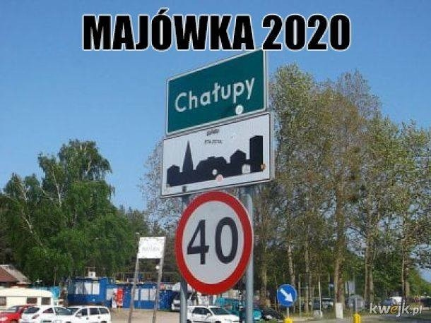 Majówka 2020 memy. Jak spędzimy w tym roku majowy długi weekend?