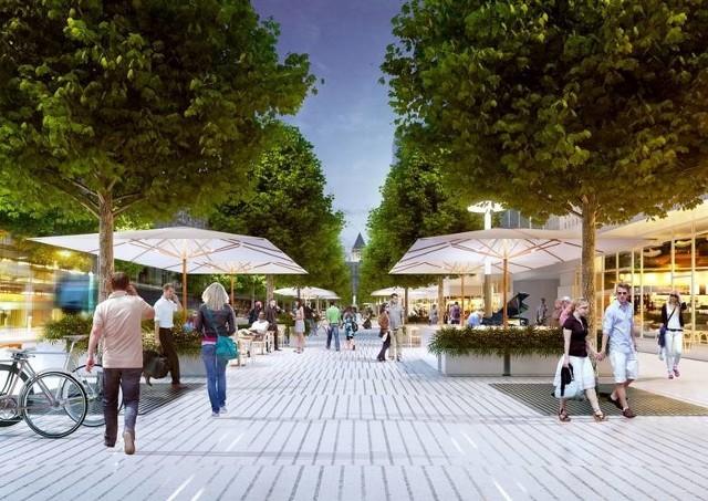 Architekci ze Studia ADS przygotowali koncepcję na zagospodarowanie centrum Poznania